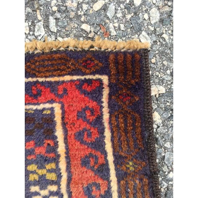 Handmade Persian Baluchi Rug - 2′4″ × 4′5″ - Image 7 of 9