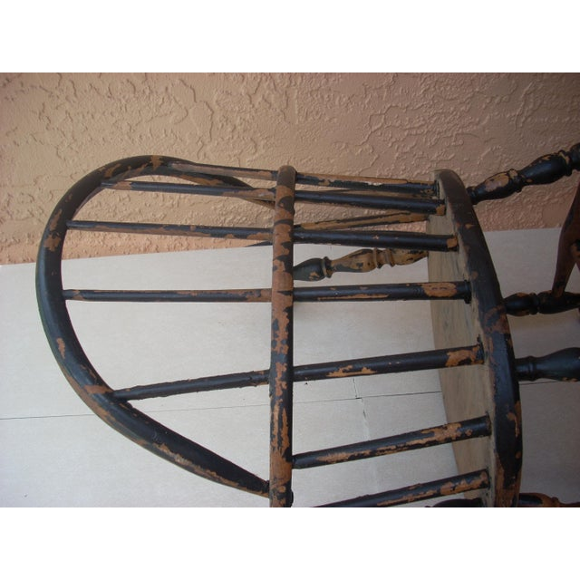Windsor Child's Rocking Chair For Sale - Image 6 of 10
