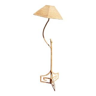 Mario Lopez Torres Wicker Floor Lamp
