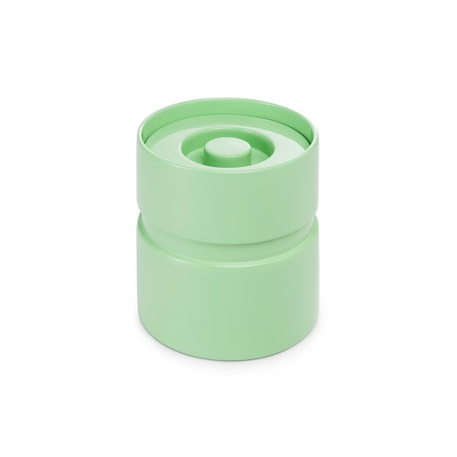 Contemporary Ice Bucket in Mint - Rita Konig for The Lacquer Company For Sale - Image 3 of 3