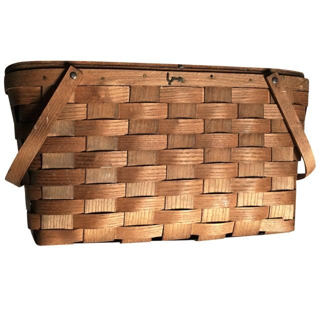 Vintage Basketville Putney Picnic Basket - Image 1 of 6