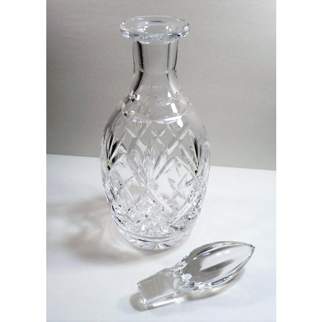 Crystal Royal Doulton England Cut Lead Crystal Decanter For Sale - Image 7 of 9