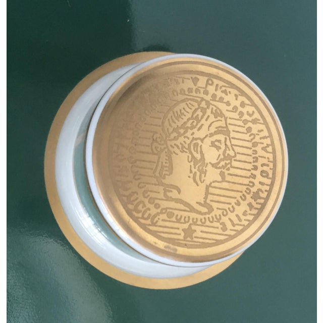Cigar Humidor Porcelain Container by Bernardaud For Sale In Austin - Image 6 of 11