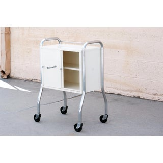 1950s Medcosonlator Rolling Medical Cabinet Cart Preview