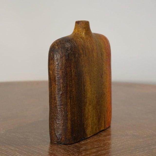 Mid 20th Century Marcello Fantoni Wide Should Vase For Sale - Image 5 of 9