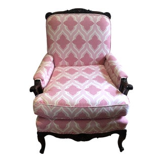 Vintage Christopher Farr Upholstered Chair For Sale