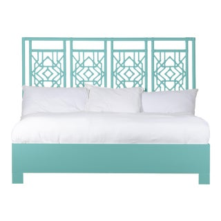 Tulum Bed King - Turquoise For Sale
