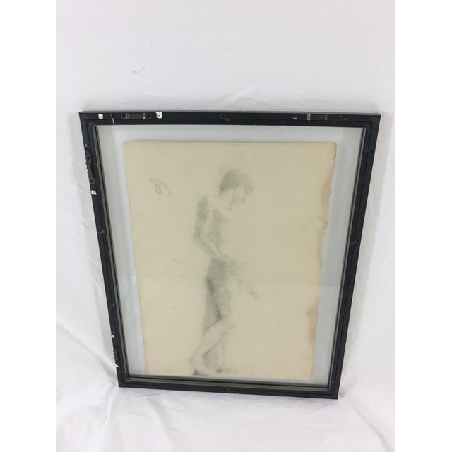 Late 19th Century 19th Century French Medical Drawing of Front Muscular Structure For Sale - Image 5 of 6