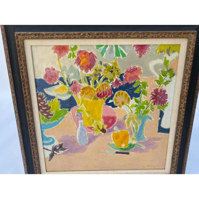 1900 - 1909 Jean Cavailles Still Life For Sale - Image 5 of 8