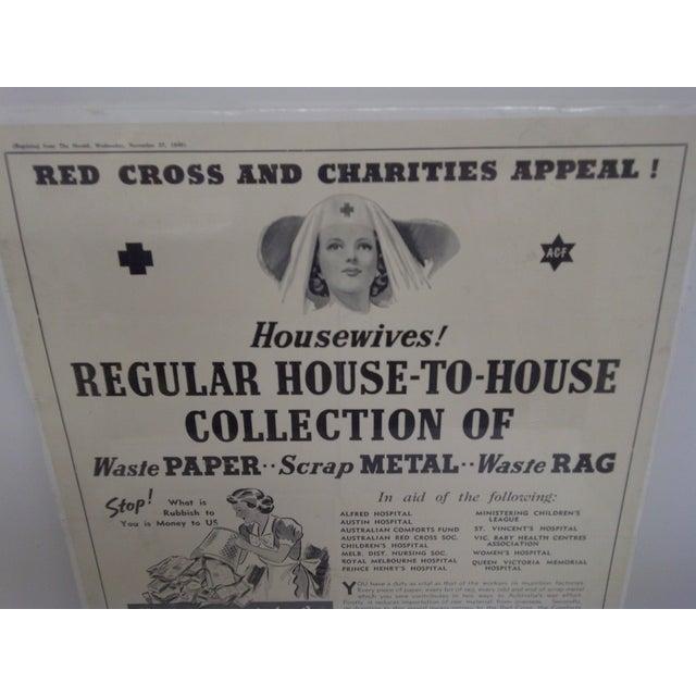 Vintage Red Cross Newspaper Advertisement 1940 - Image 3 of 6