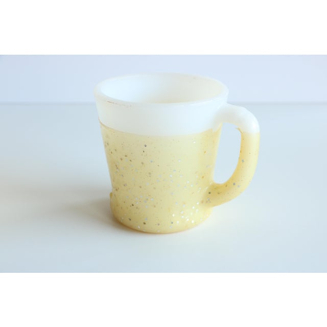 Glamalite Glitter Mugs in Caddy by Fire-King - Set of 8 - Image 10 of 11