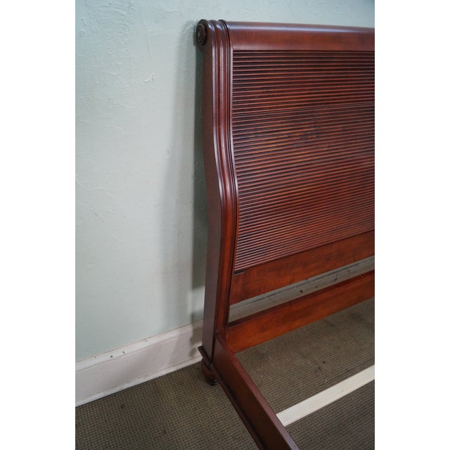 Ethan Allen British Classics King Size Kingston Bed For Sale In Philadelphia - Image 6 of 10