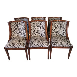 Regency Dining Chairs Made by Old Colony - Set of 6 For Sale