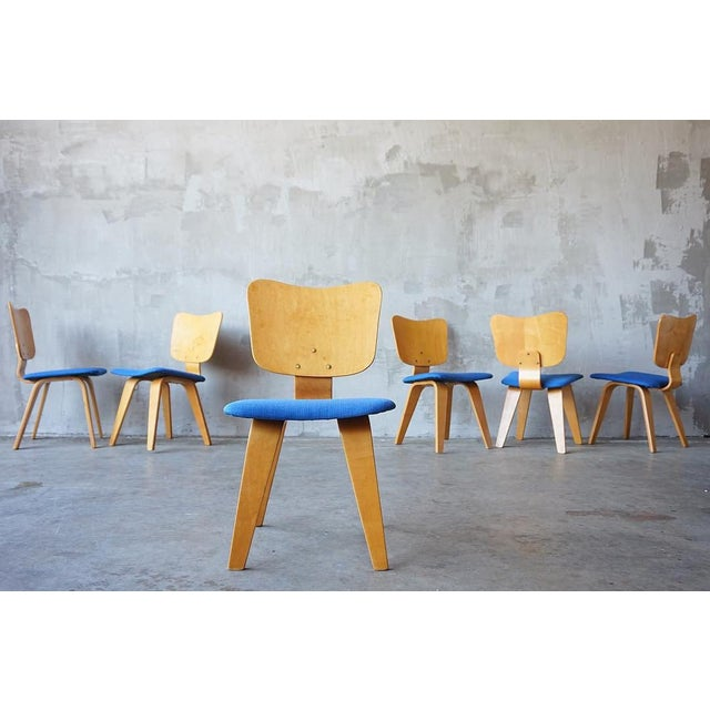 Blue Set of 6 Thaden Jordan Dining Chairs For Sale - Image 8 of 8