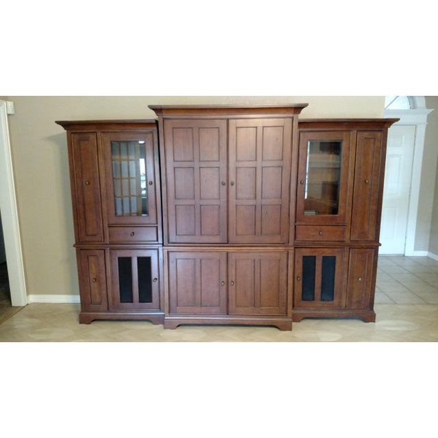 Riverside Furniture Wooden Entertainment Center - Image 2 of 5