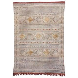 20th Century Moroccan Berber Flat-Weave Rug - 8'9 X 12'6