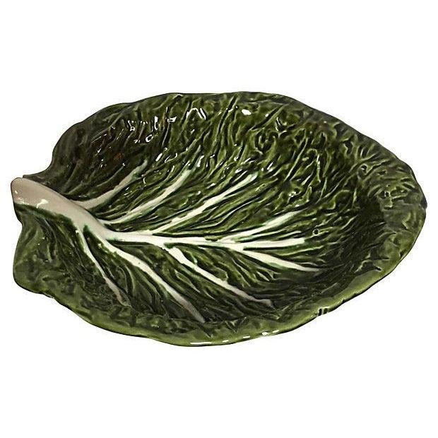 Cabbage Leaf Serving Bowl - Image 1 of 3