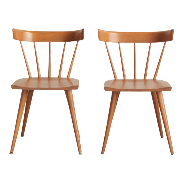 Vintage Mid Century Paul McCobb Planner Group Dining Chairs- a Pair For Sale