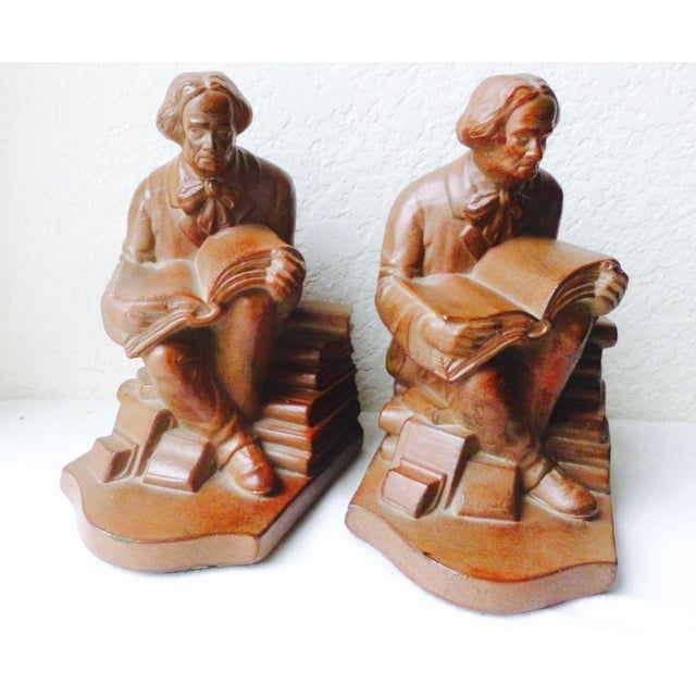 Elbert Hubbard Bookends - Image 9 of 11