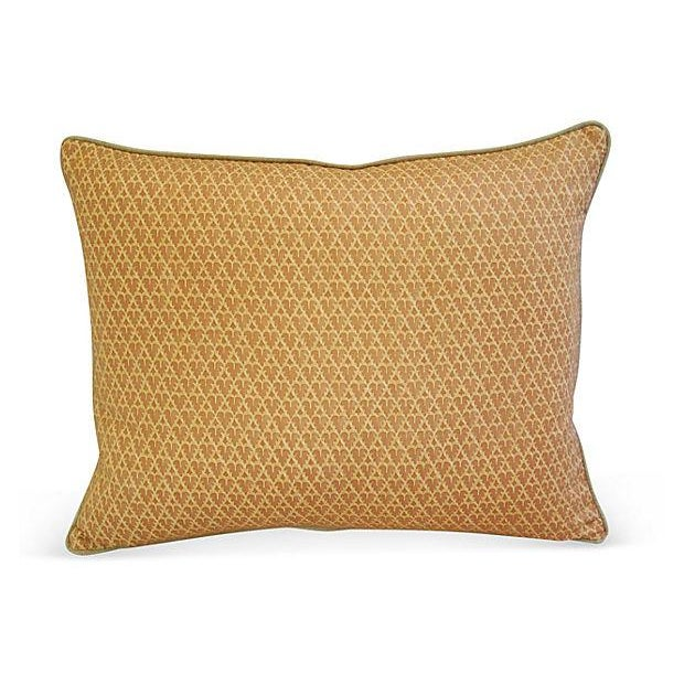Designer Italian Fortuny Murillo Pillows - Pair - Image 4 of 7