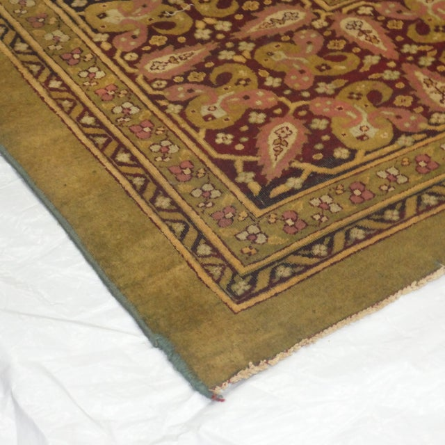 Leon Banilivi Antique Amritzar Carpet - 9' X 12' - Image 5 of 5