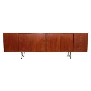 Danish Teak Credenza For Sale