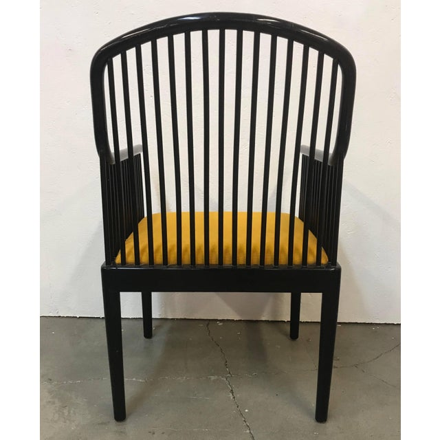 "Davis Allen Set of 14 Yellow Davis Allen ""Andover"" Chairs for Stendig For Sale - Image 4 of 9"
