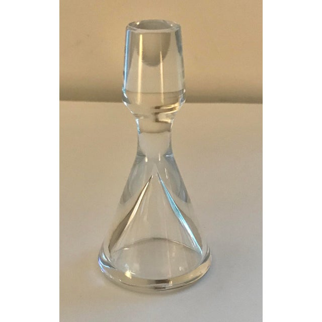 Baccarat Mid Century Modern Crystal Decanter For Sale - Image 10 of 13