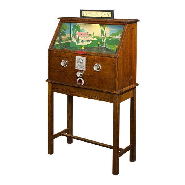 Trophy Golf Floor Gaming Machine For Sale