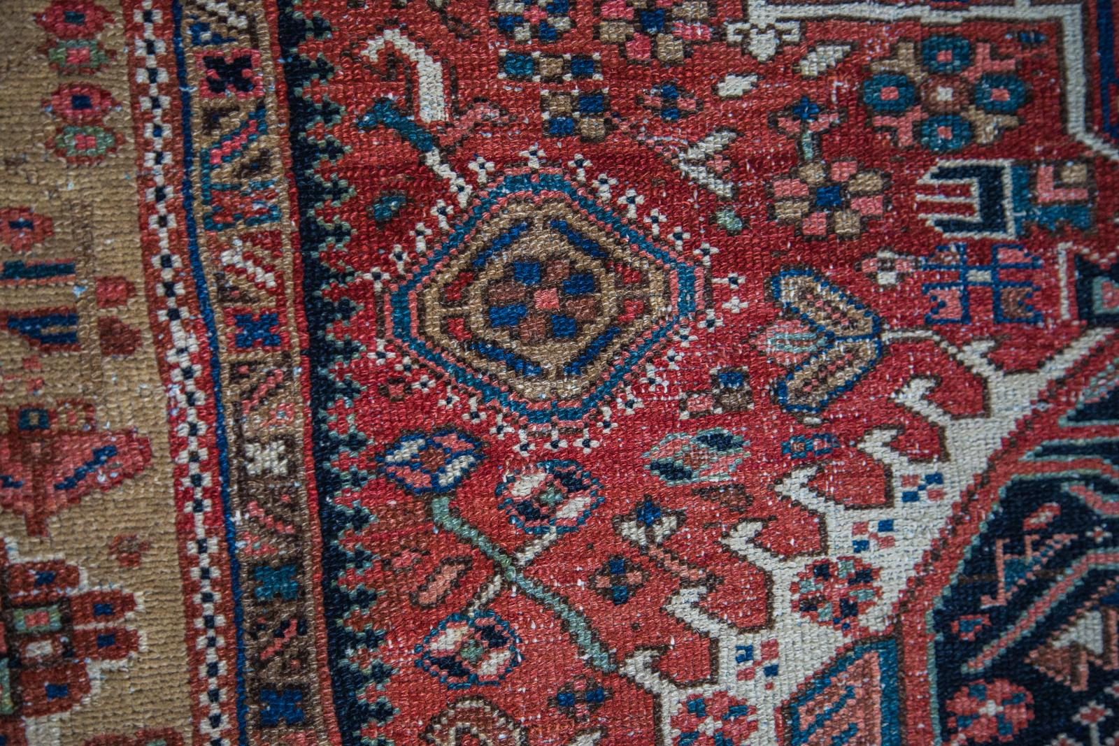 1920s Antique Karaja Rug 4 6 Quot X 6 5 Quot Chairish