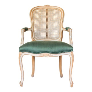 Caned Fauteuil For Sale
