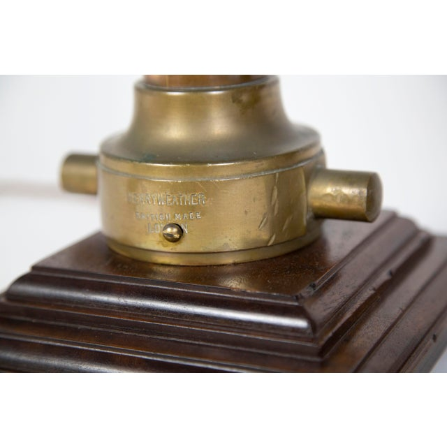 Copper & Brass Victorian Fire Hose Nozzle Lamps (Pair) For Sale - Image 10 of 13