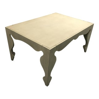 Rocaille Antique White Play Table