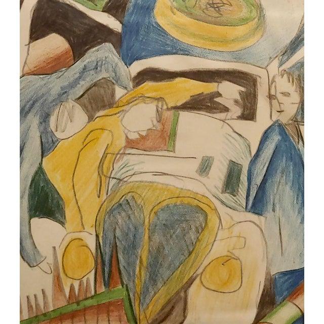 Arthur Secunda - Car Accident - Original Painting For Sale - Image 4 of 8