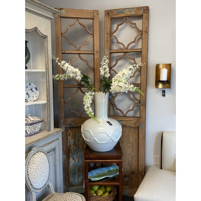 If you love architectural salvage, you'll love these doors! Gorgeous pair of antique French country doors. One side is...