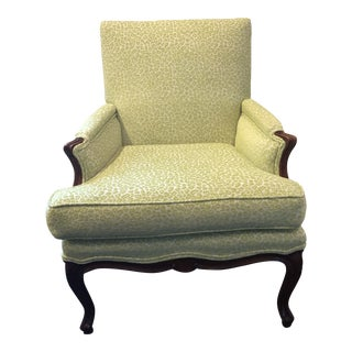 Newly Reupholstered Vintage Accent Chair For Sale