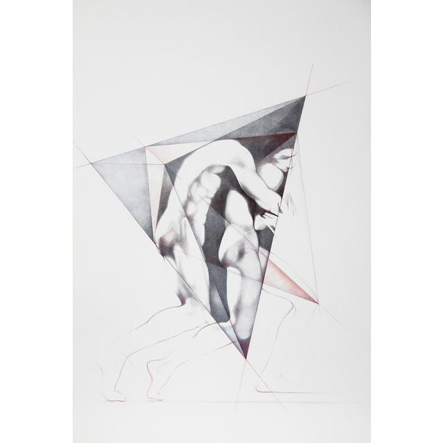 Move Ii, Lithograph by Helene Guetary For Sale