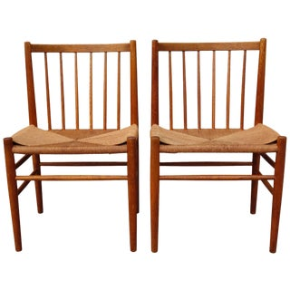 Midcentury Side Chairs by Jorgen Baekmark- a Pair For Sale