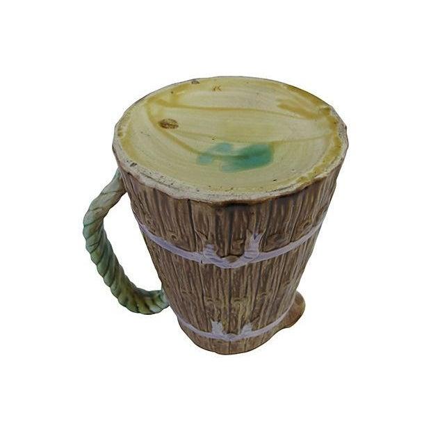Antique English Majolica Jug - Image 4 of 4