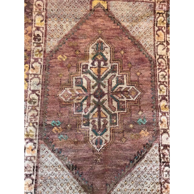 """Bellwether Rugs Turkish Patina """"Lo"""" Rug - 2′8″ × 3′11″ For Sale - Image 4 of 7"""