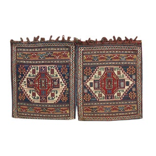 Shahsavan Sumak Bags - a Pair For Sale