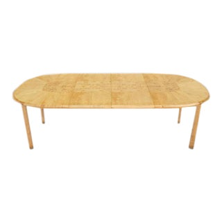Mid-Century Modern Edmond Spence Swedish Dining Table For Sale