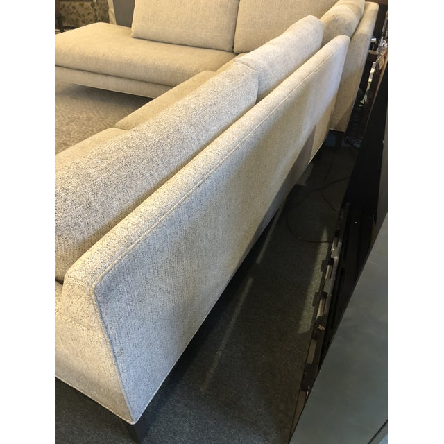 New Thayer Coggin Notti Sectional - Image 7 of 11