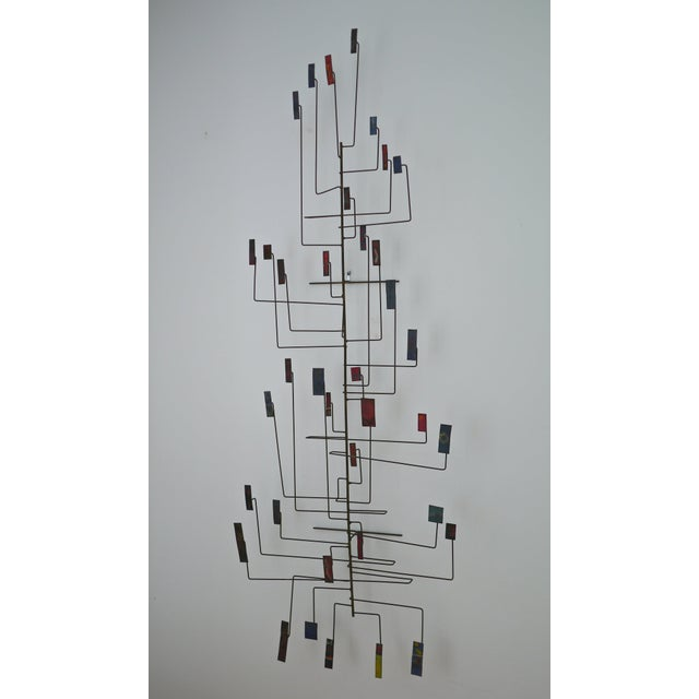 Abstract Copper Sculpture in the Manner of Harry Bertoia For Sale - Image 11 of 11
