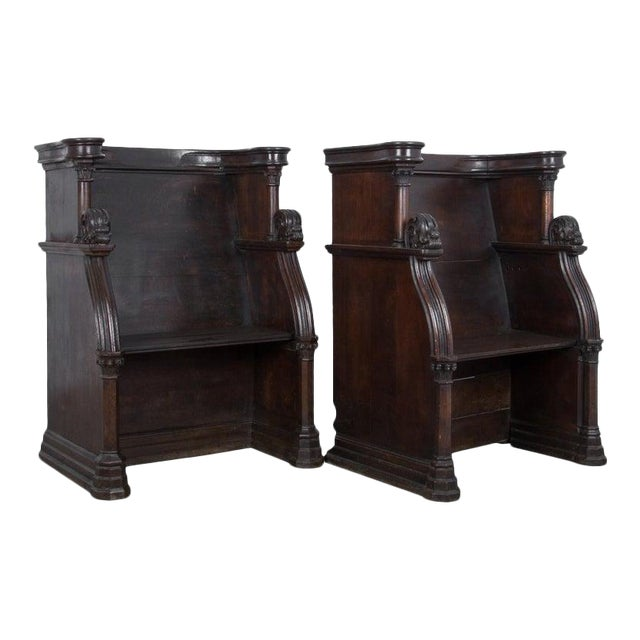 19th Century French Choir Stalls - a Pair For Sale