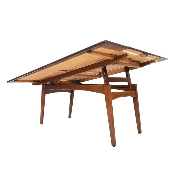 Danish Modern Rosewood Elevation Coffee Table - Image 6 of 8