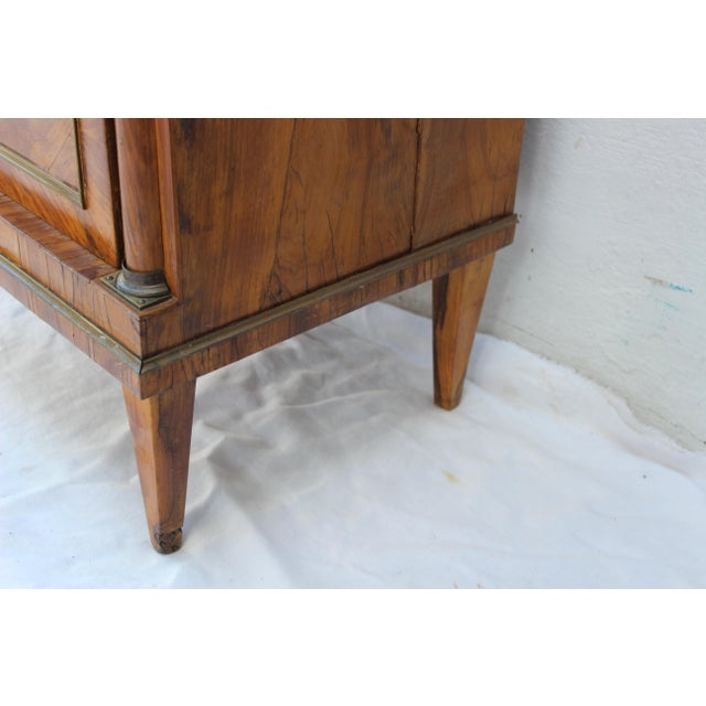 19th Century Italian Fruitwood Nightstand For Sale - Image 9 of 12