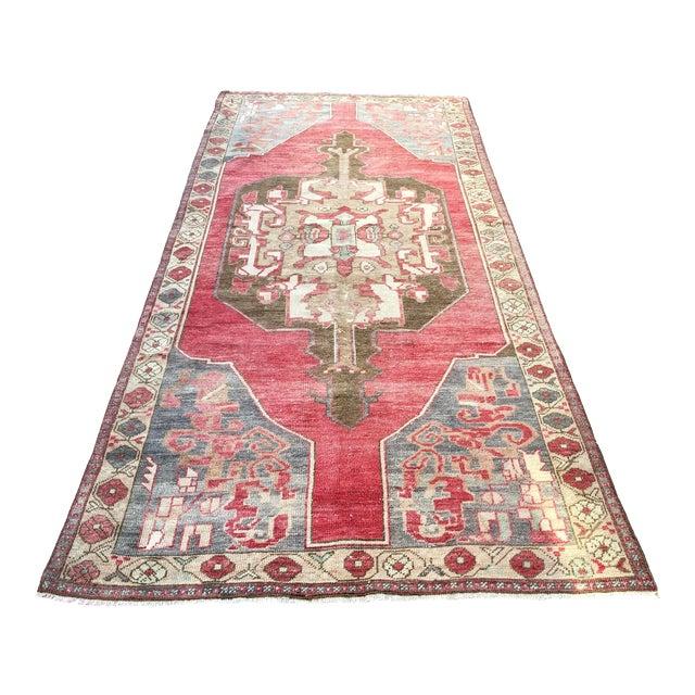 Tribal Turkish Carpet For Sale