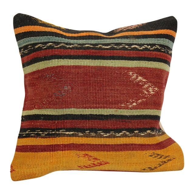 Turkish Kilim Pillow - Image 1 of 6