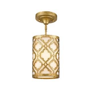 Arabella Gold Steel Mini Pendant